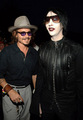 Johnny Depp,Marilyn Manson