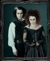 Johnny Depp and Helena Bonham Carter