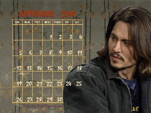 Johnny - September 2010 (calendar)