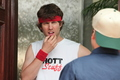 Jon Heder, guest star on FCU: Fact Checkers Unit - napoleon-dynamite photo