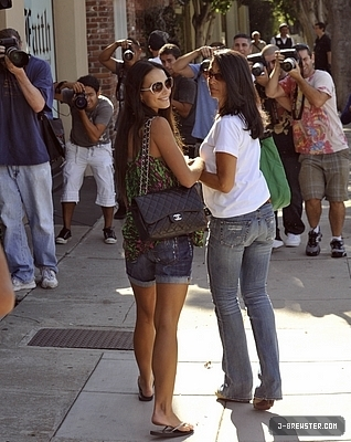 Jordana out in Melrose Place