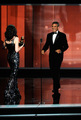 Julianna presenting George Clooney at the Emmys