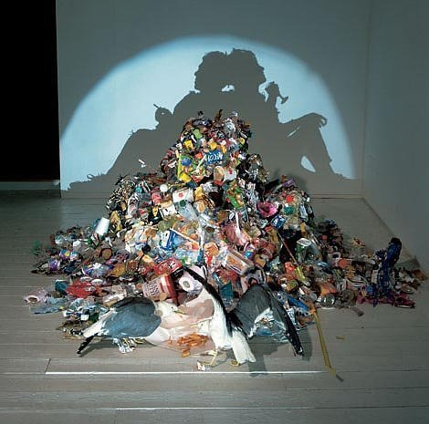 Junk Shadow Art