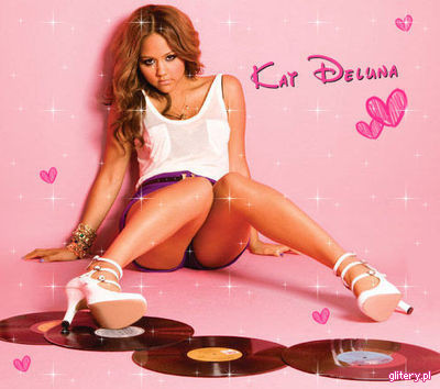 Kat DeLuna Hintergrund with a leotard, tights, and a maillot called Kat so cute!