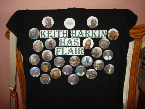 Keith Harkin Has Flair