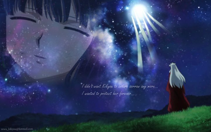 Inuyasha images kikyo and inuyasha wallpaper and background photos 15178966 - Wallpaper images ...