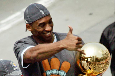 Los Angeles Lakers hình nền called Kobe Bryant
