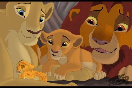 The Lion King kertas dinding titled Kopa