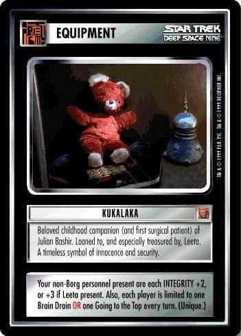 estrella Trek: Deep el espacio Nine fondo de pantalla entitled Kukalaka - Card Game
