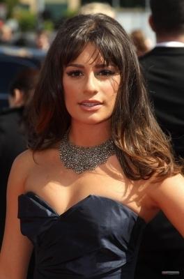 Lea @ 2010 Primetime Emmy Awards