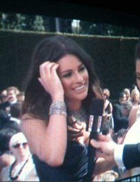 Lea at the Emmys