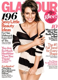 Lea covers Glamour magazine!