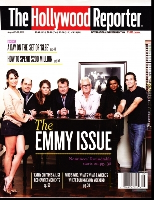 "Lea in ""The Hollywood Reporter"" 27th August 2010"
