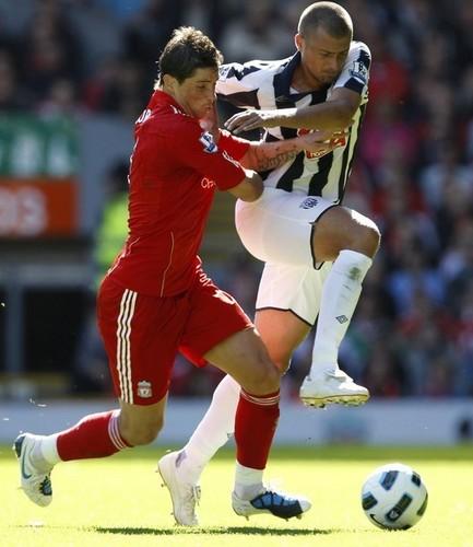 Liverpool (1) vs (0) West Bromwich Albion