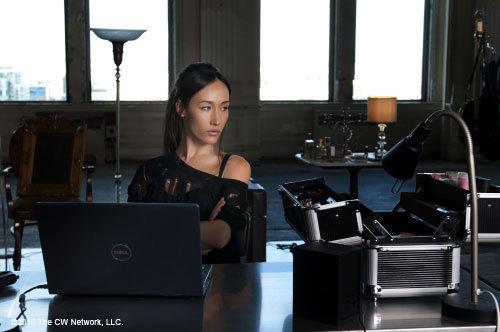 """Maggie Q as Nikita in """"Pilot"""""""