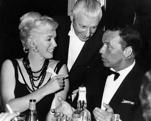 Marilyn and Frank Sinatra