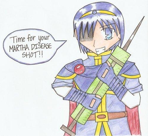 Martha Disease Shot