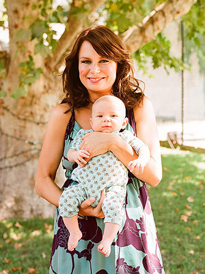 Mary Lynn Rajskub With Baby