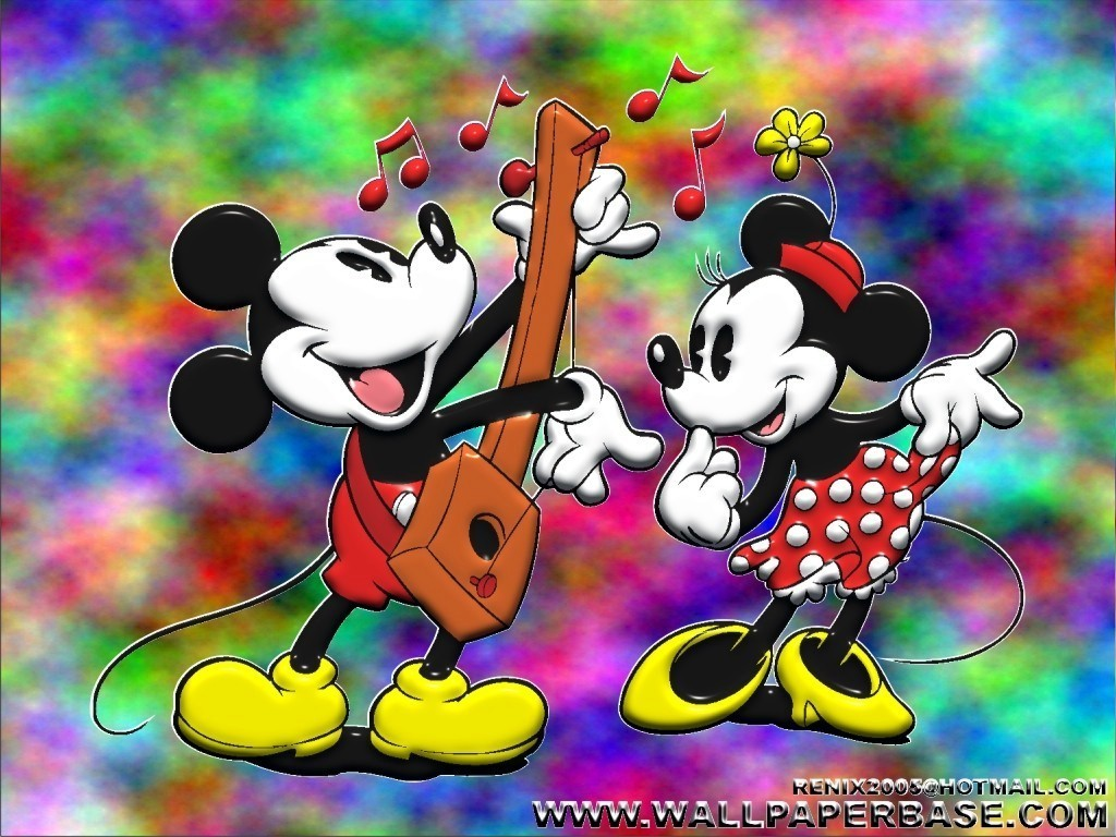 Mickey and Minnie Disney Mickey Mouse