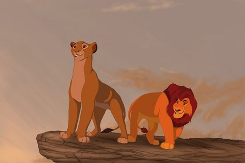 the lion king wallpaper called Mufasa & Sarabi