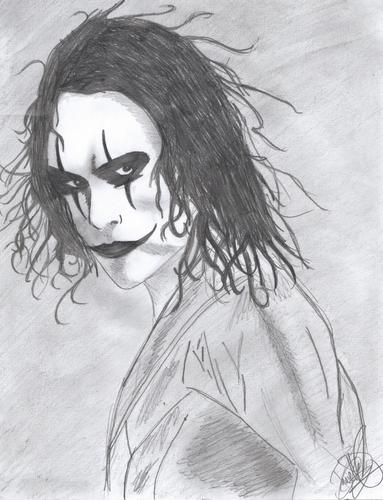 My Cartoon drawing of The Crow