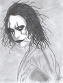 My Cartoon drawing of The Crow