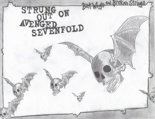 "My Drawing of ""Strung Out On Avenged Sevenfold"""