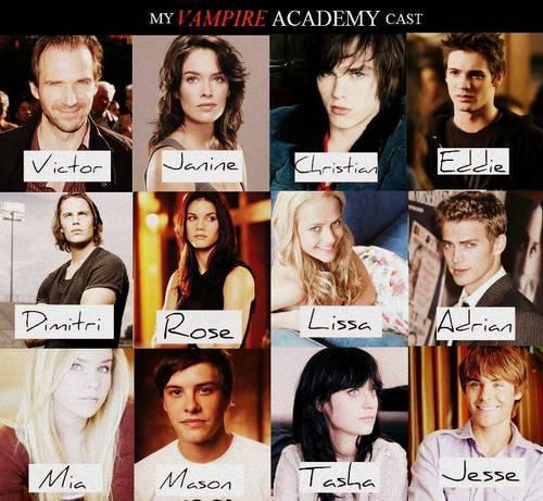Vampire Academy wallpaper called My second cast!