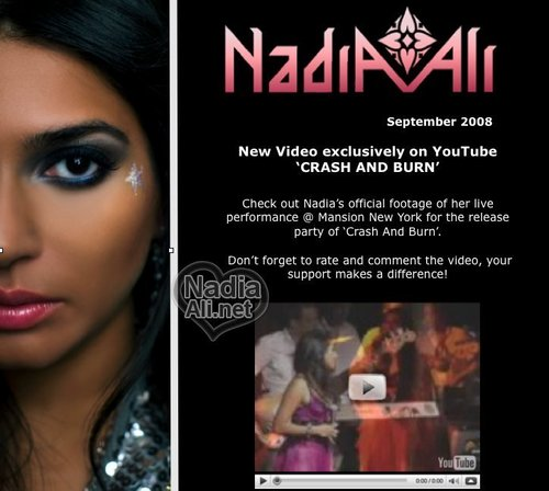 Nadia Promotional Poster