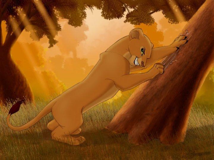 Lion King Nala Furry