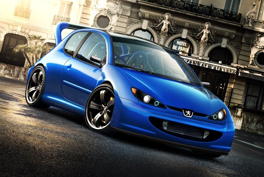 Peugeot Images Peugeot 206 Tuning Hd Fond Décran And Background