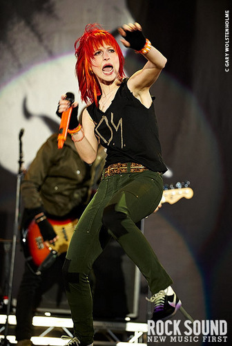 Paramore at 'Leeds Festival 2010'