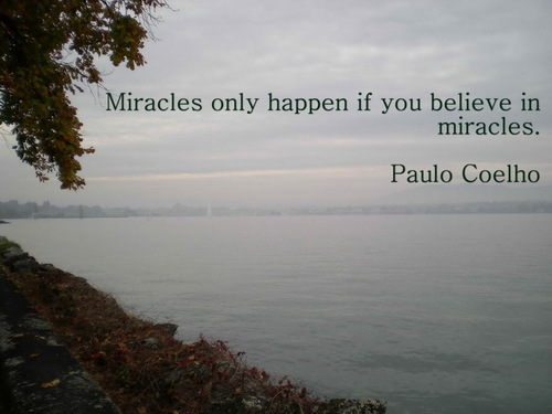 Paulo Coelho - Quotes wallpaper probably containing a lakeshore and a sunrise in The Paulo Coelho Club