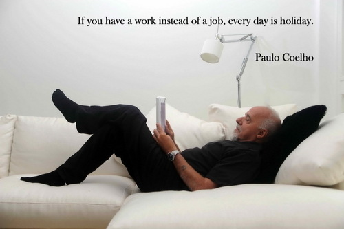 Paulo Coelho - Quotes wallpaper containing a living room, a couch, and a sleeping room in The Paulo Coelho Club