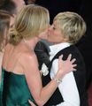 Portia De Rossi and Ellen Degeneres - gay-celebrity-kisses photo