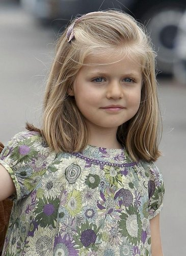Princess Leonor of Spain as Renesmee