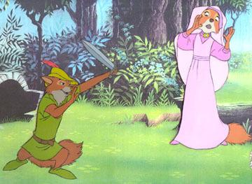 Walt Disney's Robin Hood wallpaper with anime entitled RH