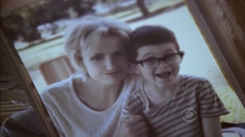 Criminal Minds wallpaper probably containing a sign called Reid and his mom