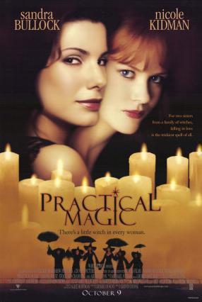 Sandra Bullock and Nicole Kidman in Practical Magic