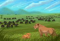 Sarafina&Nala - the-lion-king fan art
