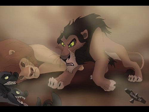 The Lion King wallpaper entitled Scar