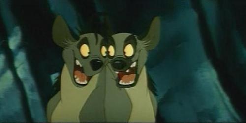 Hyenas from Lion King fond d'écran called Screencap - Shenzi and Banzai