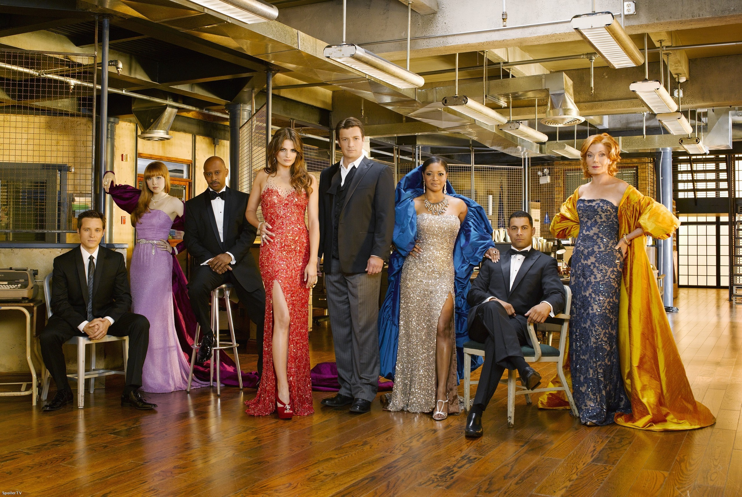 Season 3 cast promotional photo castle photo 15189447 fanpop - Television c discount ...