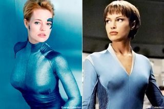 Seven of Nine and T'Pol