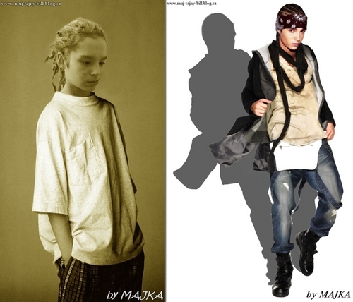 Tom Kaulitz fond d'écran with an outerwear and long trousers entitled Sexy!!