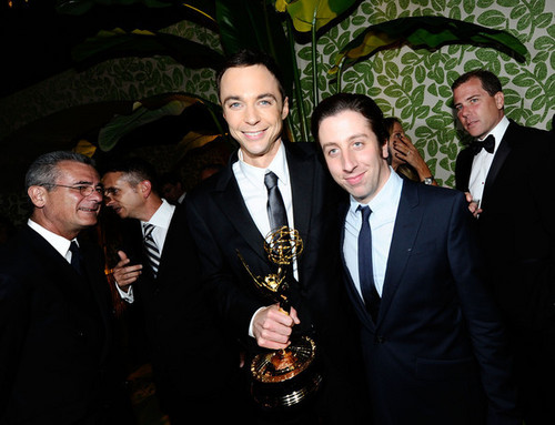 Simon & Jim @ HBO's Annual Emmy Awards Post Award Reception - Inside