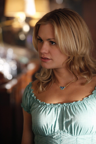 Sookie Stackhouse wallpaper probably with a coquetel dress and a portrait entitled Sookie - season 3
