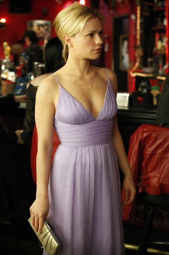Sookie Stackhouse wallpaper possibly with a coquetel dress and a jantar dress called Sookie - season 3