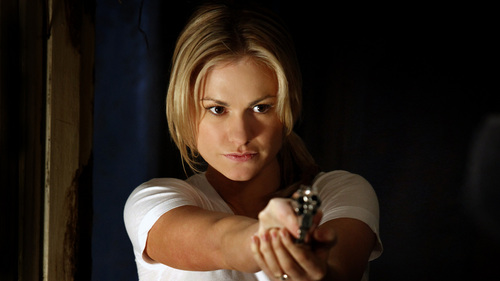 Sookie Stackhouse wolpeyper possibly with a portrait entitled Sookie - season 3