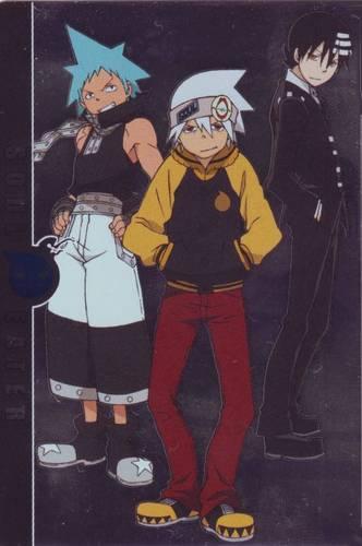 Soul, Black* Star, & Kid